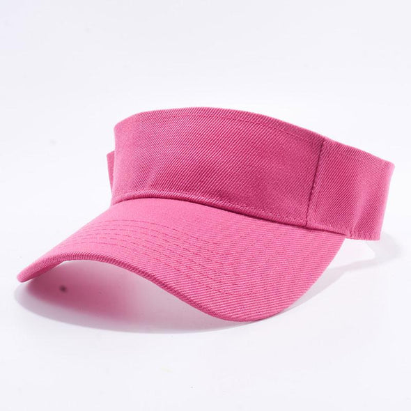 Pit Bull Blank Visor Hats Wholesale [H.pink]