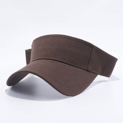 Pit Bull Blank Visor Hats Wholesale [D.brown]