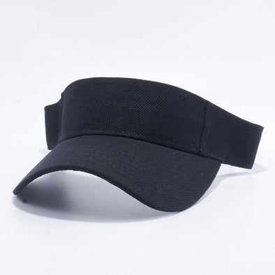 Pit Bull Blank Visor Hats Wholesale [Black]