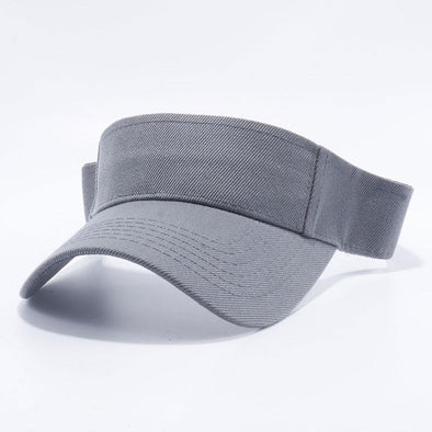 Pit Bull Blank Visor Hats Wholesale [D.Grey]