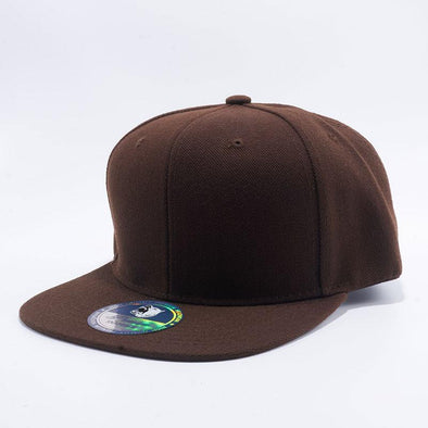 Pit Bull Acrylic Snapback Hats Wholesale [D.brown]