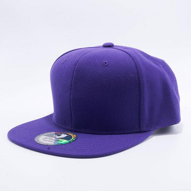 Pit Bull Acrylic Snapback Hats Wholesale [Purple]