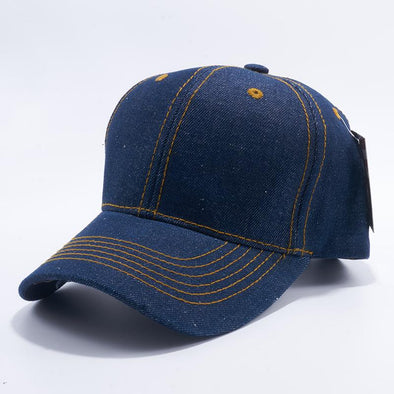 Pit Bull Denim Baseball Caps Wholesale [Blue] Adjustable