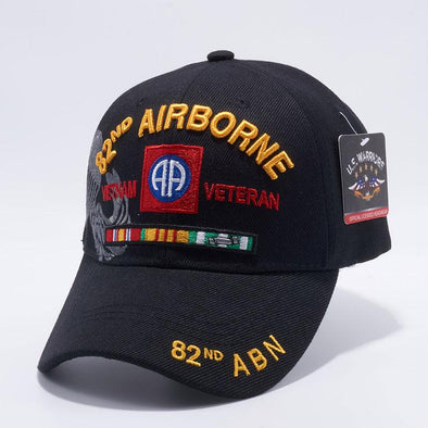 Mi-716 82Nd Airborne Vietnam Veteran Military Caps Wholesale [Black] Exclusive