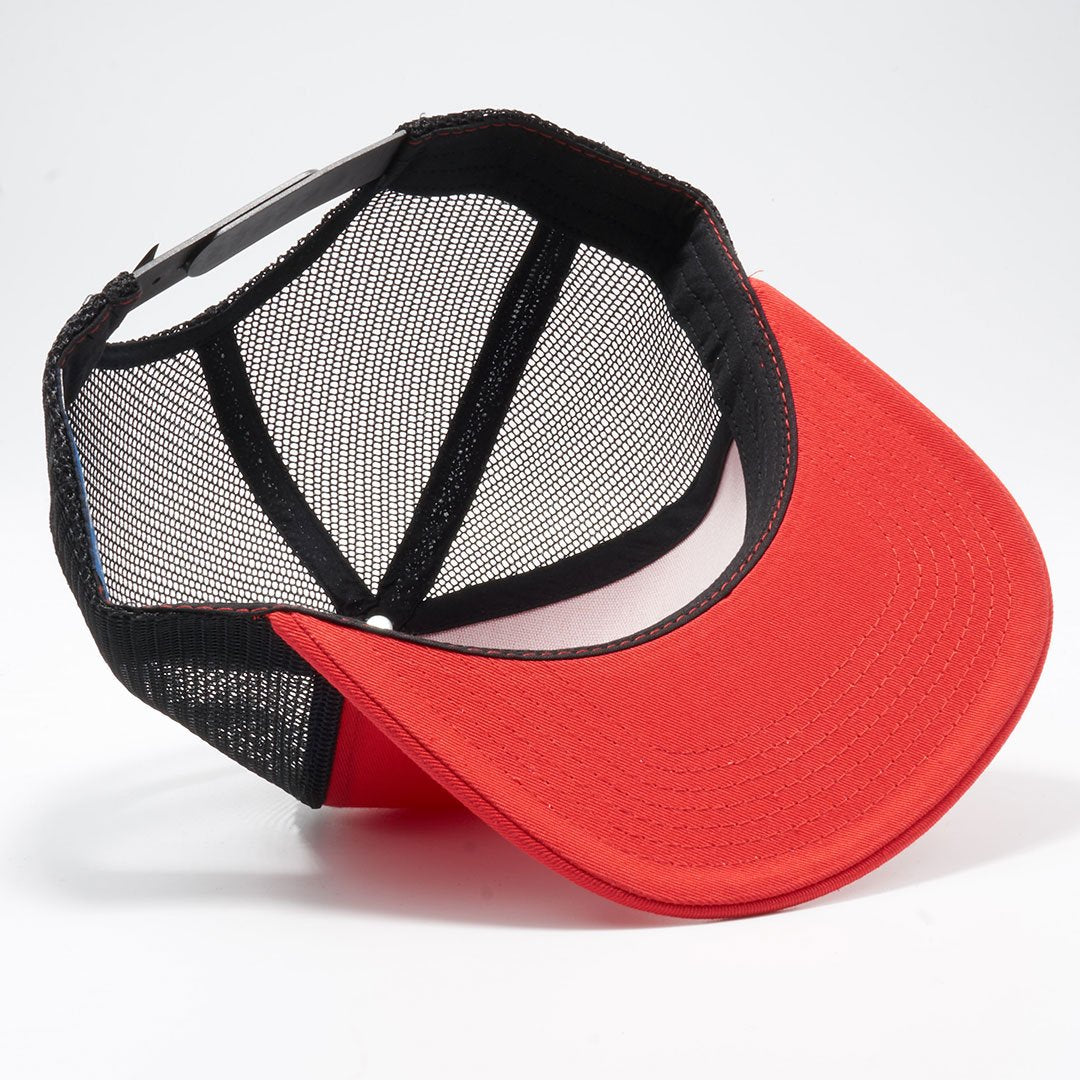 1a5d7c06ccb PB108 Pit Bull 5 Panel Cotton Trucker Hats Wholesale  Red Black ...