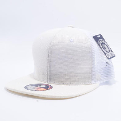 Pit Bull Linen Trucker Hats Wholesale [Ivory]