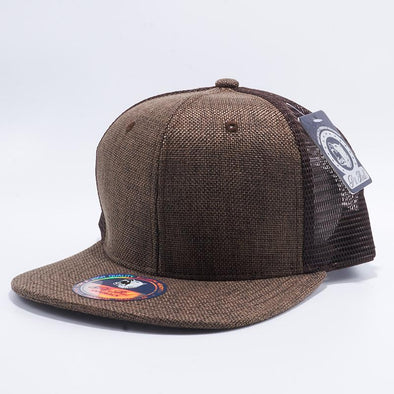 Pit Bull Linen Trucker Hats Wholesale [Brown]