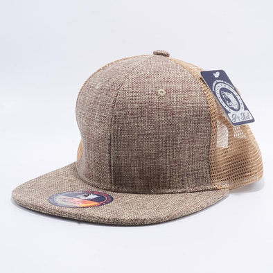 Pit Bull Linen Trucker Hats Wholesale [Natural]