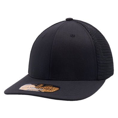 Pb229 Pit Bull Cambridge Mesh Stretch [Black] S/m Trucker