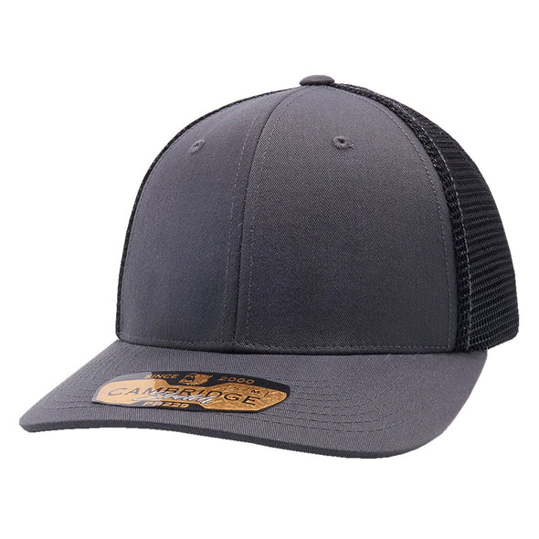 Pb229 Pit Bull Cambridge Mesh Stretch [Charcoal/black] S/m Trucker