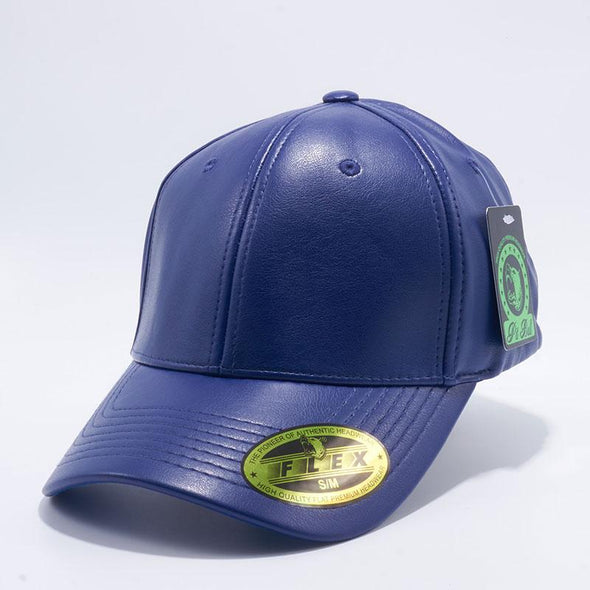 Pit Bull PB205 Royal Leather Flex Fit Comfort Fit One Size Baseball Hats Wholesale