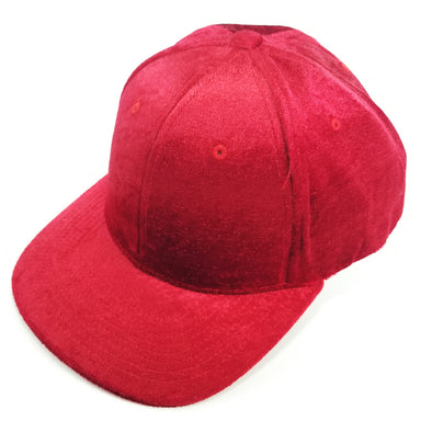 PB233 Pit Bull Cambridge Velvet Snap Back Hat[Red]