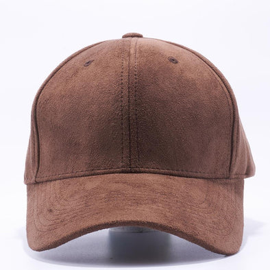 Pit Bull Suede Baseball Hats Wholesale [Brown] Adjustable