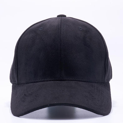 PIT BULL Black Suede Baseball Hats Wholesale