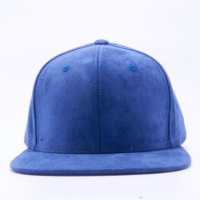 Pit Bull Suede Snapback Hats Wholesale [Royal]