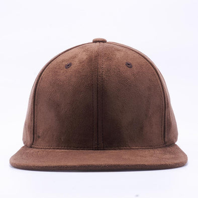 PIT BULL Brown Suede Snapback Hats Wholesale