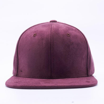 PIT BULL Wine Suede Snapback Hats Wholesale