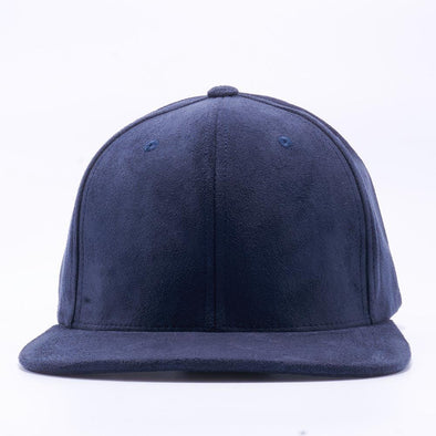 PIT BULL Navy Suede Snapback Hats Wholesale