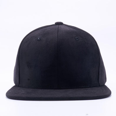PIT BULL Black Suede Snapback Hats Wholesale