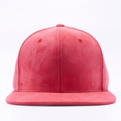 PIT BULL Red Suede Snapback Hats Wholesale