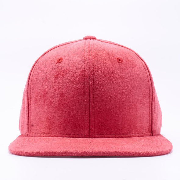 Pit Bull Suede Snapback Hats Wholesale [Red]