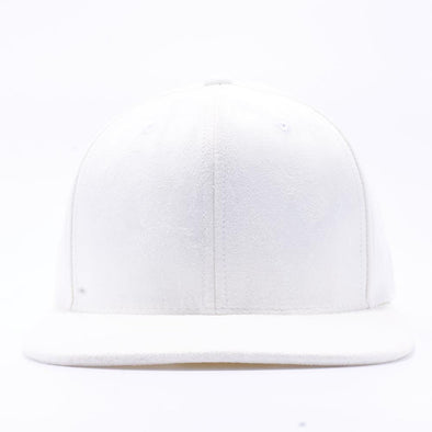 PIT BULL WHITE Suede Snapback Hats Wholesale