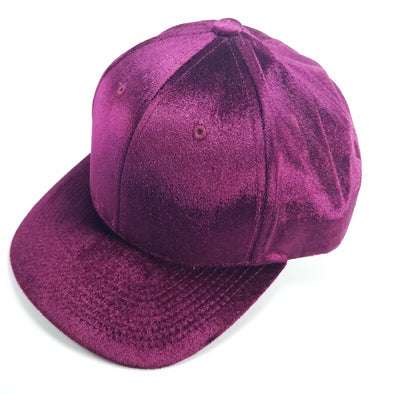 PB233 Pit Bull Cambridge Velvet Snap Back Hat[Wine]