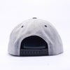 Pit Bull Wool Blend Snapback Hats Wholesale [Heather/black]