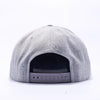 Pit Bull Wool Blend Snapback Hats Wholesale [Heather]