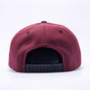 Pit Bull Wool Blend Snapback Hats Wholesale [Maroon/black]