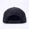 PIT BULL Black Wool Blend Snapback Hats Wholesale