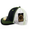 PB230 Pit Bull Cambridge Structured Trucker Hat [Black/N.Green]