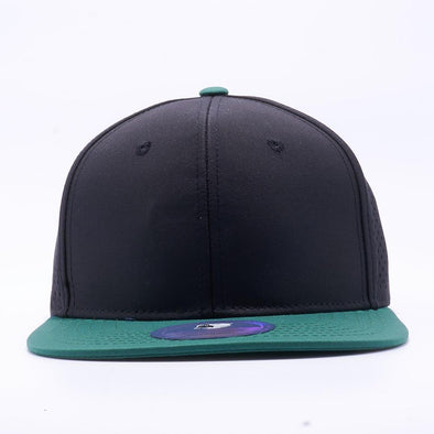 Pit Bull Perforated Snapback Hats Wholesale [D.green/black]