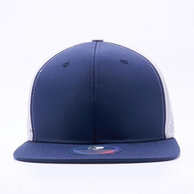 Pit Bull Perforated Snapback Hats Wholesale [Navy/white]