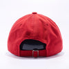 PIT BULL Red Cotton Twill Dad Hat Wholesale