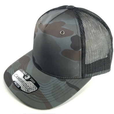 PB238 Pit Bull Cambridge 5 Panel Camo Trucker [D.Grey]