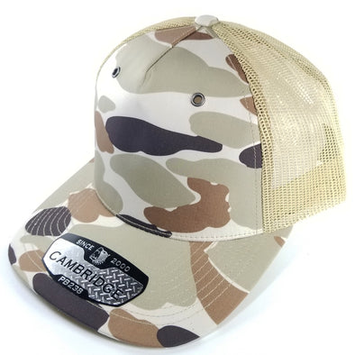 PB238 Pit Bull Cambridge 5Panel Camo Trucker [Khaki]