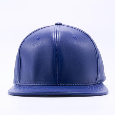 Pit Bull Leather Snapback Hats Wholesale [Royal]