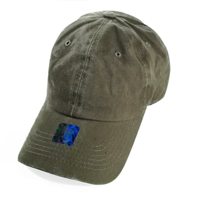 PB188 Pit Bull Pigment Dyed Dad Hat [Moss]