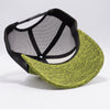 PB227 Pit Bull Cambridge Space Dyed Mesh Trucker Hats [Yellow/Black]