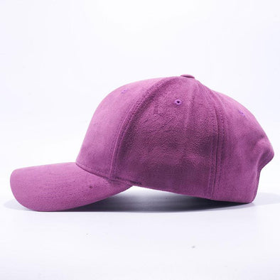 Pit Bull Suede Baseball Hats Wholesale [Purple]
