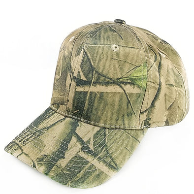PB128c Pit Bull Hook And Loop Backstrap With Acrylic Curved Caps  [T.Camo1]