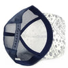 PB252 Pit Bull Cambridge Paisley Mesh Trucker Hat [White/Navy]
