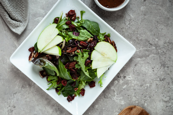 Mixed Baby Greens with Dried Cranberries