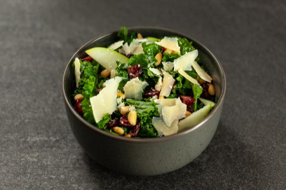 Kale, Cranberry, Pear, Pine Nut and Parmesan Salad