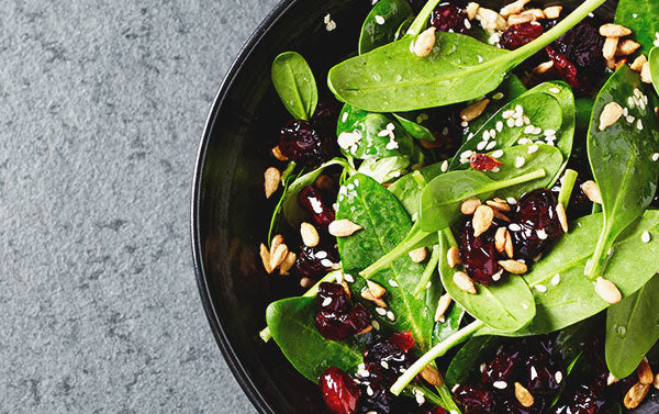 Paradise Meadow Whole Cranberry Superfood Salad with Creamy Avocado Dressing
