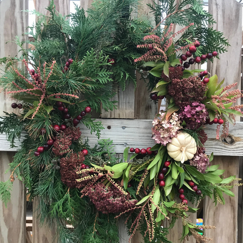 Hanging Berry Wreath