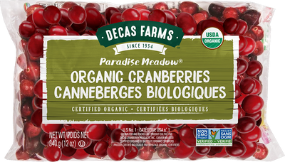 Fresh Organic Cranberries