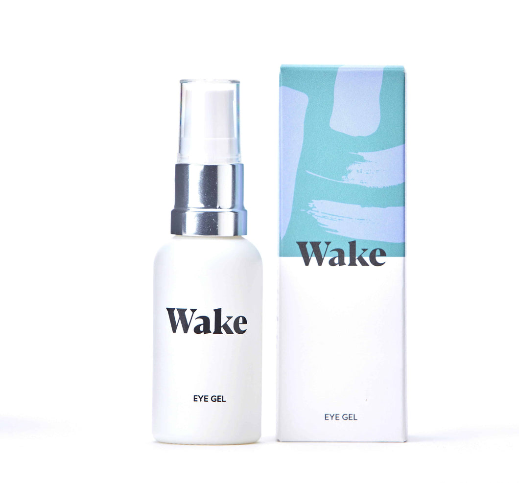 Wake Skincare Eye Gel to get rid of bags under eyes - 30 ml