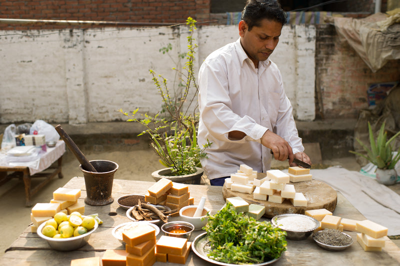 Watch Sayeed make our Handmade Soap